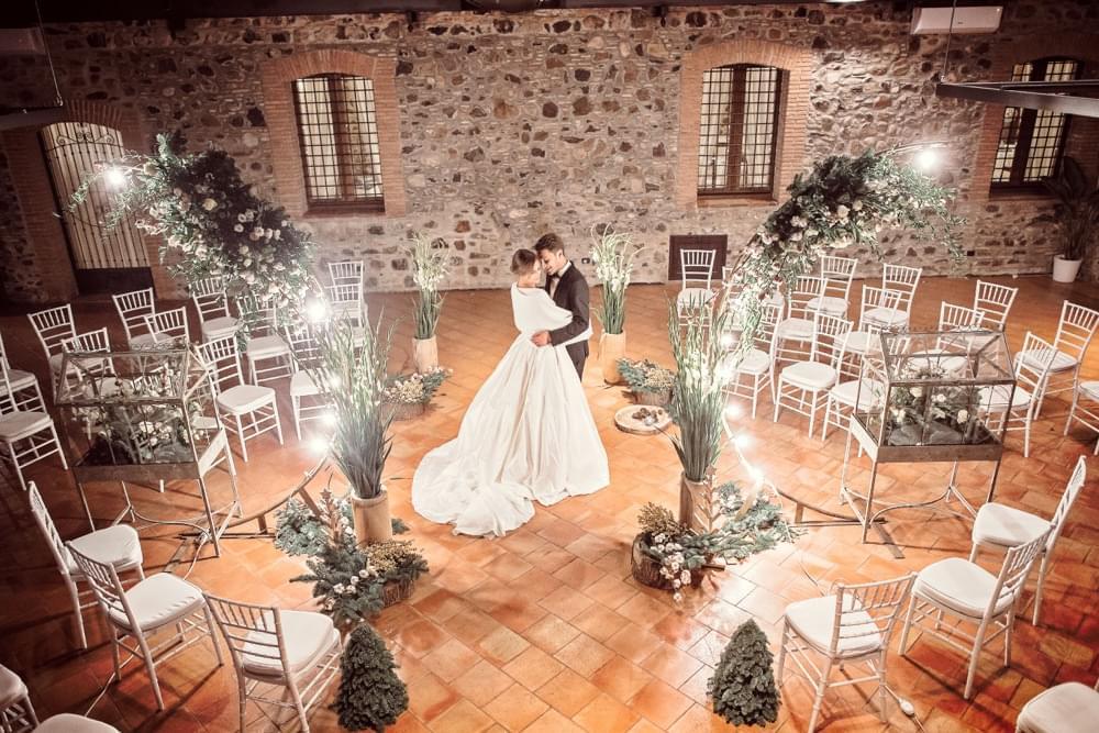 Il perfetto matrimonio invernale